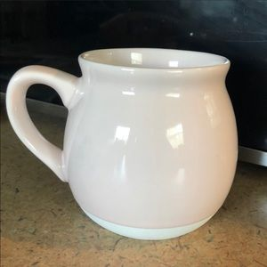 Threshold Stoneware Mug Pale Pink and Matte Bottom